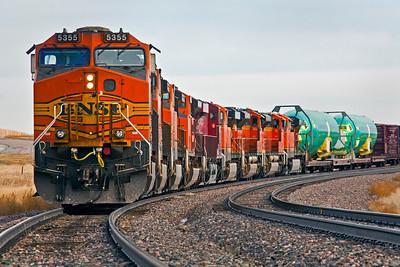 Nine Engine Train Gillette WY_9444