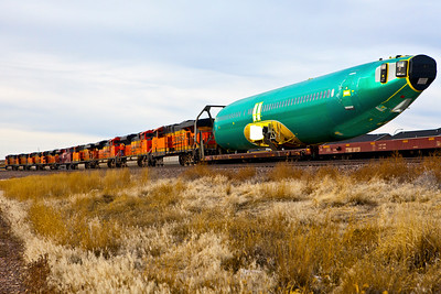 Plane on a Train Gillette WY_9421