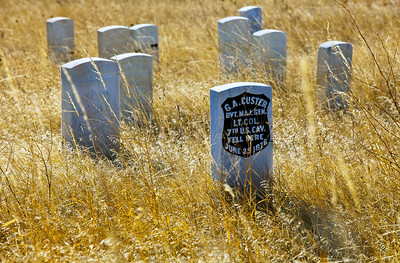 Custer's Last Stand Little Bighorn Battlefeild National Monument_9313