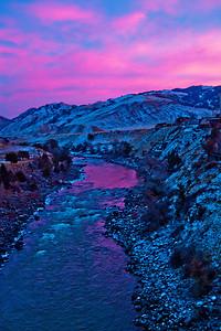 Yellowstone River Bridge Gardiner MT_9248