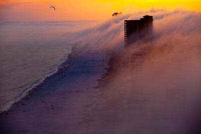 Fog Rolling in Over Orange Beach AL_0798