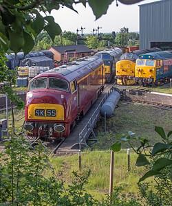 Severn Valley Railway Diesel Festival 2018