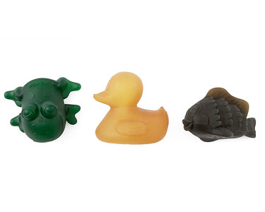 Rubber Pond Animals (Colour)