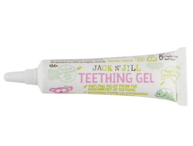 Jack N' Jill Baby Natural Teething Gel