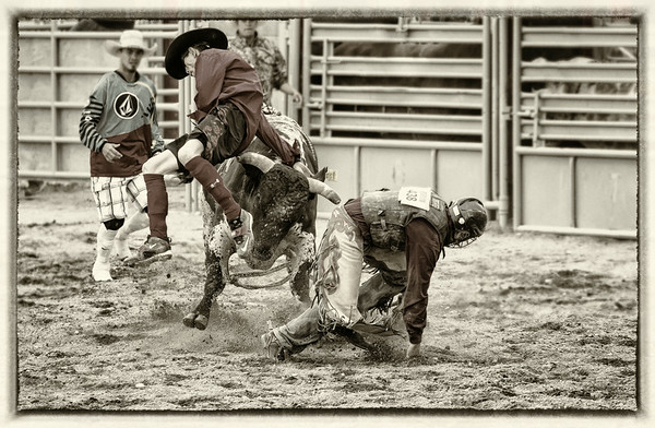 Protecting the Bull Rider