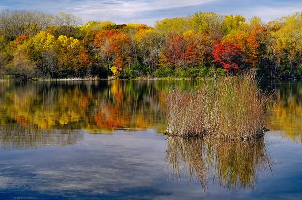 Snail Lake Fall Color - 1