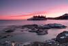 Sunset over Ellingson Island