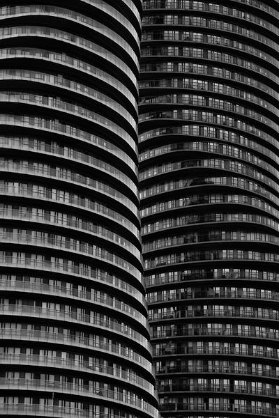 Opposing Balconies