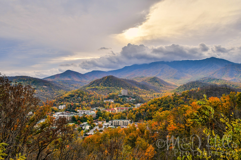 Fall Sunrise Over Gatlinburg