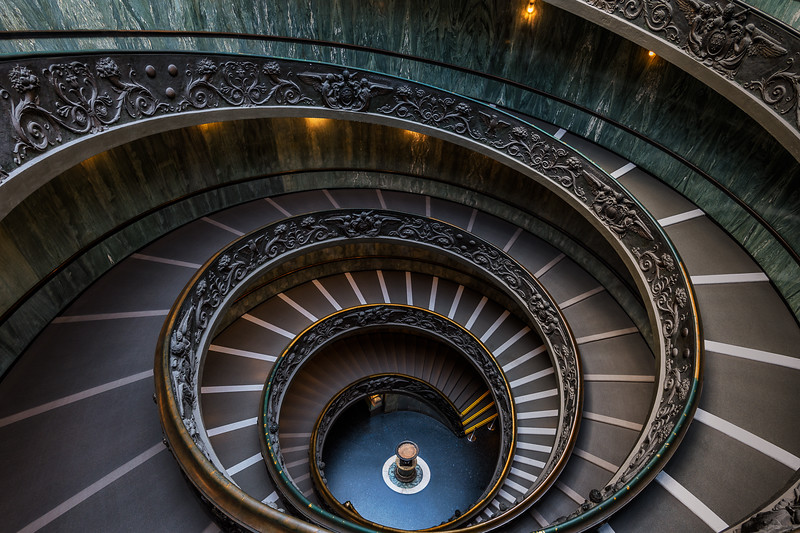 The Modern Bramante Staircase