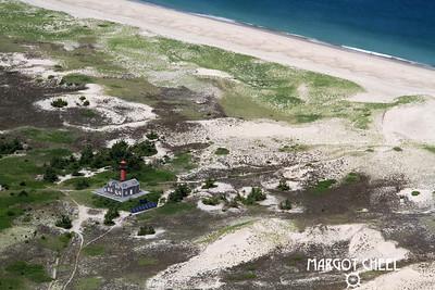 LIghthouse on Monomoy - Cape Cod