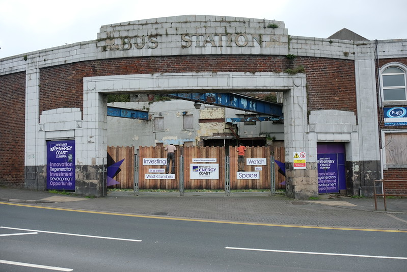 Old Bus Station at Whitehaven