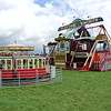 Fair ground at Gloucesterhire Vintage and Country Extravaganza
