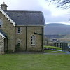 Station Masters house at Ribblehead,  Ribblehead Viaduct  can be seen to the right of house