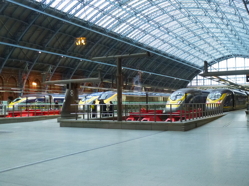 St Pancras,  Not many old units around,lucky we had an old one, no num bum on these.