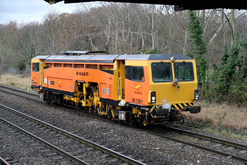 DR 73911 working Severn Tunel Junc. to Worcester TC
