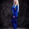Samus Aran in her Zero Suit