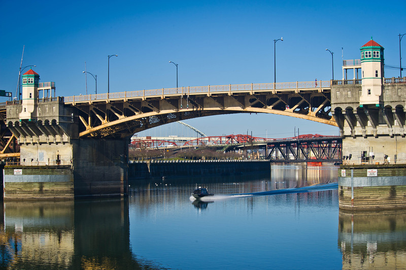 The Burnside bridge
