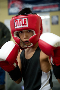 11/5/13 Meet Kalani Nadera, all business at this last Saturdays USA amateur Boxing show sponsored by Fisticuffs Gym & Vancouver PAL. This photo was taken before the event. He was walking about and looked ready to go. He did win his bout.