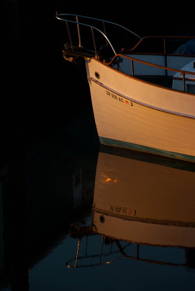 10/30/13 Sunrise on my neighbors boat.