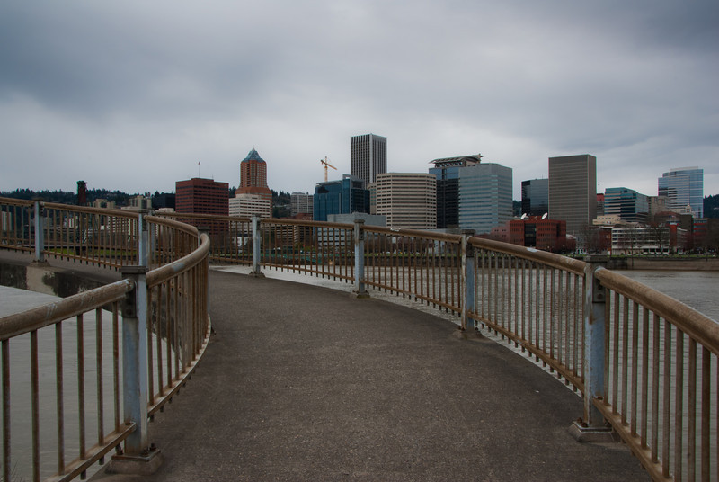 3/21/11 Portland from the east side of the river.