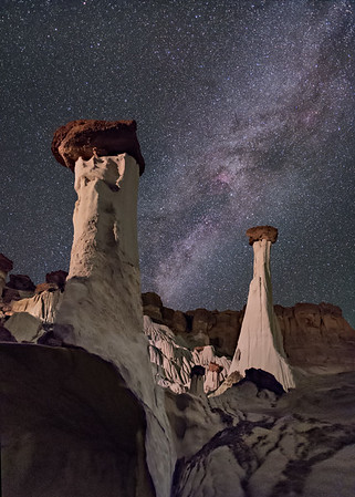 Hoodoo and Tower of Silence