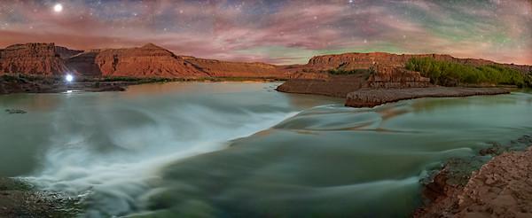 Paiute Falls Panorama (2)