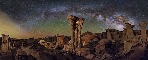 Alien Throne Panorama