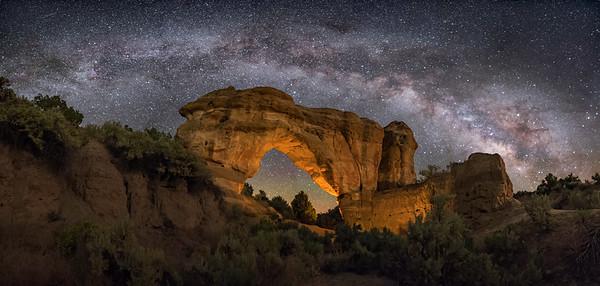 Arch Rock Panorama