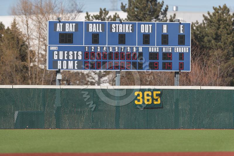 Wheaton College Baseball vs Alma College (9-1)