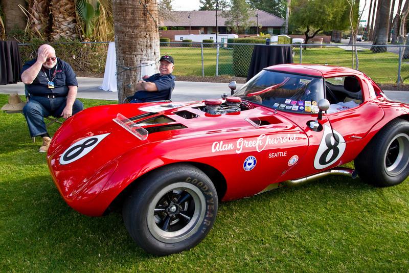 """Cheetah & Corvette make a """"hot"""" combination"""