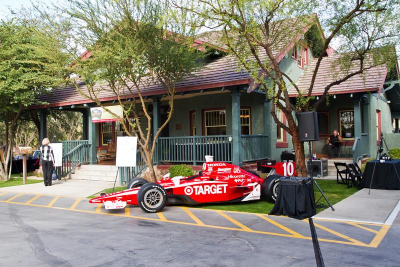 2009 IRL Champion Dario Franchitti's winning car.