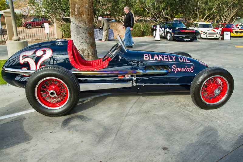 Hot in it's day, 1952 Indy 500 racer