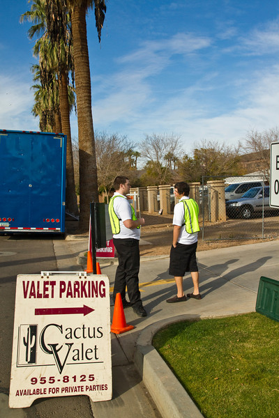 Class event provides valet parking for our guests