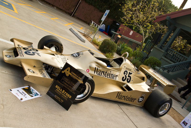 Brent Berge, Bell Ford Racing now owns this Arrows Formula 1 Racer.