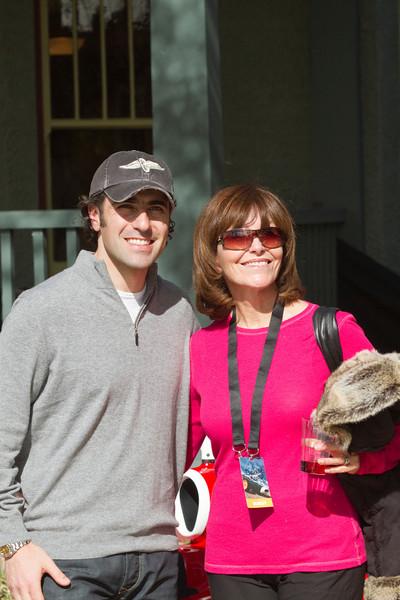 Dario & Mrs Berge