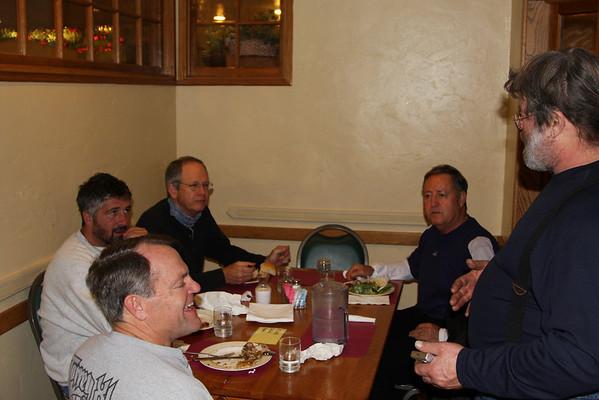 Bakersfield - Dinner with Greg Ayala & friends.