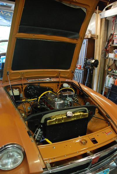 June 2012 before Dillard. Engine compartment redone.