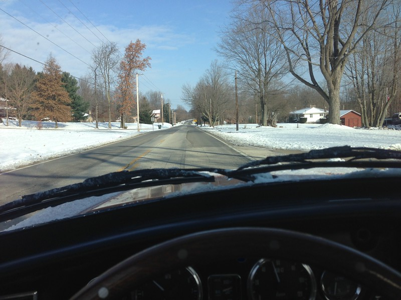 """I bought it to drive it, and would drive it all year. Being retired, I just didn't take it out if it was too bad. But then the """"real"""" car broke. I was glad for the seat heaters!"""