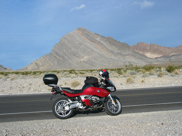 2005 R1200ST  Taken in Death Valley - January 2006