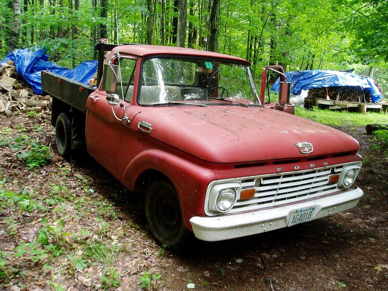 1964 Ford Pick up. How about adding this one to your collection Ralph?