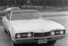 A 1968 Oldsmobile Cutlass, circa 1977.