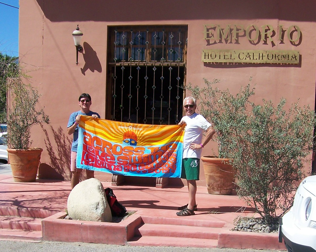 Gerry's towel went to Cabo!
