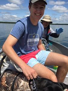 Luke Everson -  Lake Kabekona, MN