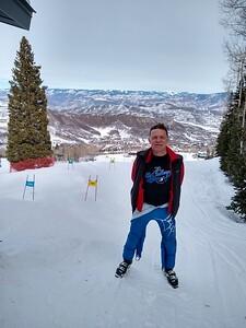 John Wright - Running Gates in Snowmass.