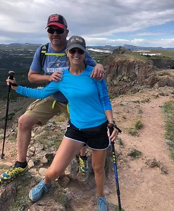 Dave and Barb Everson - Devil's Causeway - Steamboat Springs