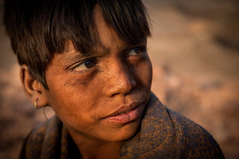 Young coal miner.