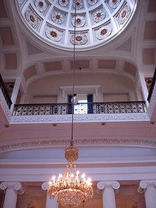 Interior of Pittville Pump Rooms, Cheltenham