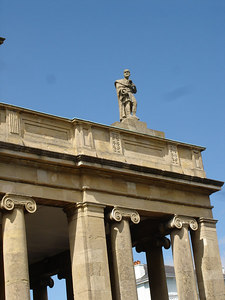 Detail of Pittville Pump Rooms, Cheltenham