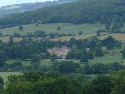 View of Sudeley Castle from Belas Knapp road